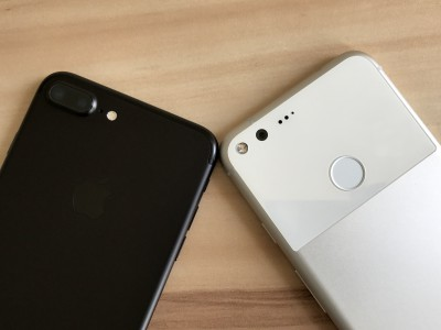 Google Pixel XL � Apple iPhone 7 Plus ������� � ����� ������������������