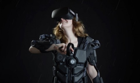 Hardlight VR Suit