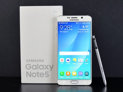 ��������� ��������� Samsung Galaxy Note 5 ������ �������� ����-������ Android 6.0