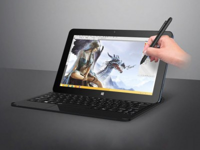 Cube i7 Stylus ���� ����� ��������� Windows-��������� � ���������� ������� Wacom