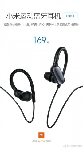 Mi Sports Bluetooth Headset Mini