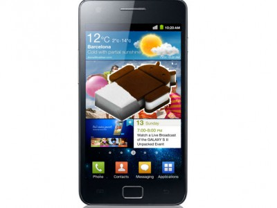 � ����� Samsung Galaxy S2 � Galaxy Note ��������� �� Google Android 4 Ice Cream Sandwich