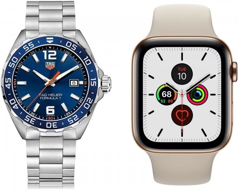 Apple vs Swiss watch